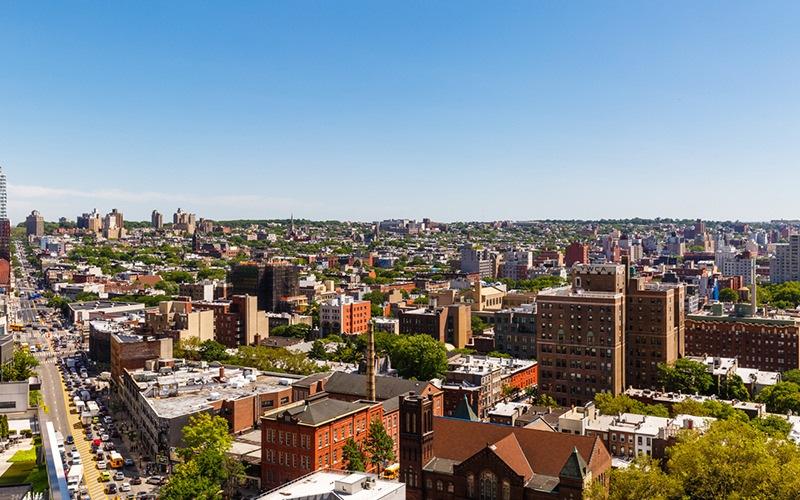skyline view of Brooklyn